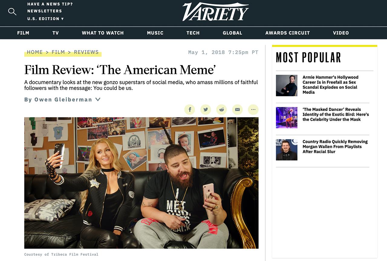 Film Review: 'The American Meme'
