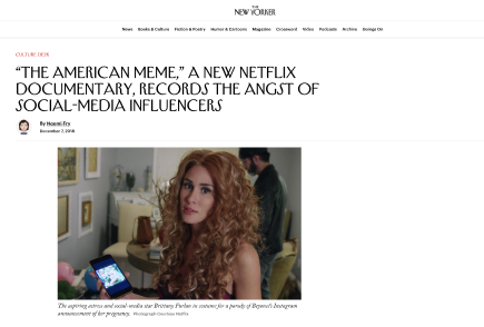 """The American Meme,"" a New Netflix Documentary, Records the Angst of Social-Media Influencers"