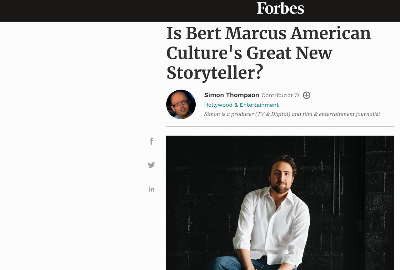 Is Bert Marcus American Culture's Great New Storyteller?